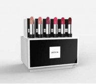 Zoya Lipstick Medium Display - 3 x 6 shades