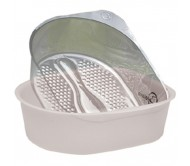 Belava Pedicure Tub Vanilla (White) & 20 Liners