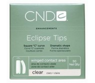 CND Clear Eclipse Tips # 02 50pk  **Clearance Product**