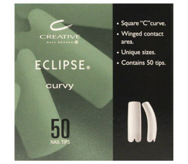 CND Natural Eclipse Tips # 03 50pk **Clearance Product**