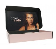 Caron BrowVado Wax Kit with Bonus Rose Gold Tweezers & Scissors (Limited Stock!)