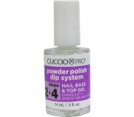 Cuccio Dip System BASE & TOP COAT GEL (Step 2&4) 14mL