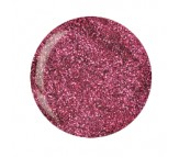 Cuccio Pro Powder Polish - 5610 Deep Pink with Pink Glitter 45g