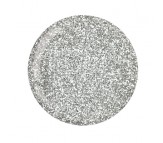Cuccio Pro Powder Polish - 5538 Silver with Silver Glitter 45g