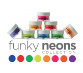 Cuccio Pro Powder Polish - Funky Neons Collection 8x14g