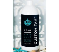 Custom Tan - 2 Hour Spray Tan Solution - Ultra Dark 15% (1 Litre)