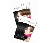 JB Lashes Extension Brochures - Pack of 50