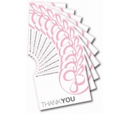 JB Lashes Thank You Cards - Pack of 50