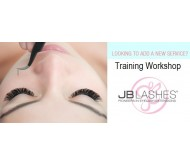 JB Lashes Training Workshop Monday 16 April 2018