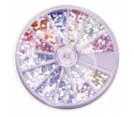 JB Lashes Rhinestone Crystal Wheel - 12 Different Colors  ** Clearance Pricing **