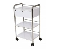 Beauty Trolley 1 Drawer,  2 Shelves