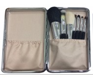 Posh 7 Piece Makeup Set with White Case