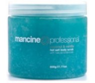 Mancine Hot Salt Scrub Coconut & Vanilla 520gm
