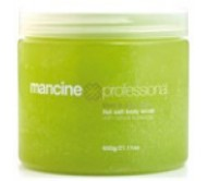 Mancine Hot Salt Scrub Kiwi & Aloe 520gm