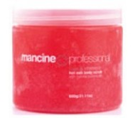 Mancine Hot Salt Scrub Pomegranate and Jojoba 520gm