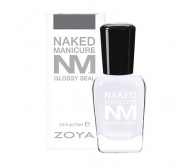 Naked Manicure Glossy Seal Top Coat 15ml