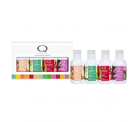 QTICA Luxury Lotion Sampler