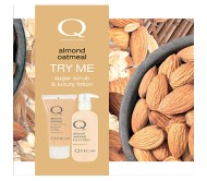 Qtica Almond Oatmeal Try Me Kit (Lotion & Scrub)