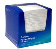 Deluxe Facial Wipes 100pk